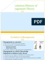 Ch 02 -- The Evolution of Management