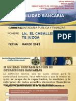 Contabilizacion de Operaciones Bancarias