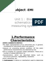 Subject -Electronics measurements and instrumentation