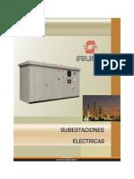 Cat. Subestaciones Electricas; Selmec