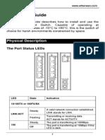 EtherWAN EX42005-00-1-A User Manual