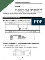 EtherWAN EX42011-1A-1-A User Manual