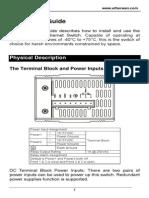 EtherWAN EX42205-0T User Manual