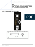 EtherWAN ED3171-00B User Manual