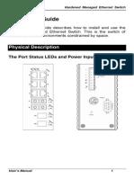 EtherWAN EX71801-03B User Manual
