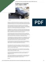 31-07-2013 Tsuru y Pick Up de Nissan Son Los Vehículos Más Robados Del País Asegura La AMIS