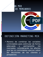 Marketing Mix Corto