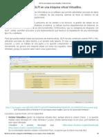 GLPI en Una Máquina Virtual VirtualBox
