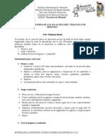 Estructuras de Las Aulas Del IEEE