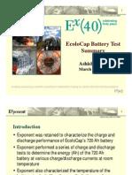 Exponent Test Summary