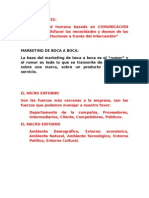 Documento Mercadotecnia