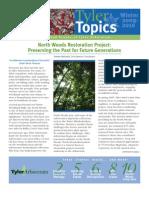 """Tyler Arboretum """"Tyler Topics"""" Winter 09 newsletter"""