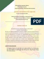 XIII Seminario Argentino Chileno II Circular