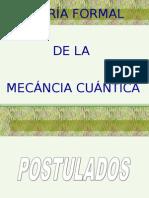Postulados de La Mecanica Cuantica