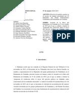 El TC rechaza la suspensión cautelar del debate sobre la independencia de Catalunya en el Parlament