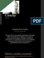 Cauchy Biografía