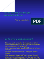Exam and Assessment Guidelines