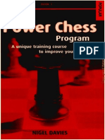 Davies - The Power Chess Program 1 a Unique Training Course (1998)(200s)(OCR)(Chessbook)