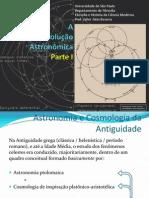 Valter Alnis Bezerra - Revolução Astronomica I