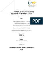 Trabajo Colaborativo 2 Tecnicas de Investigacion 2