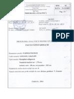 1. Prog Farmacologie 2014 FCL