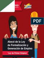 Abecé Ley Formalizacion y Generacion de Empleo