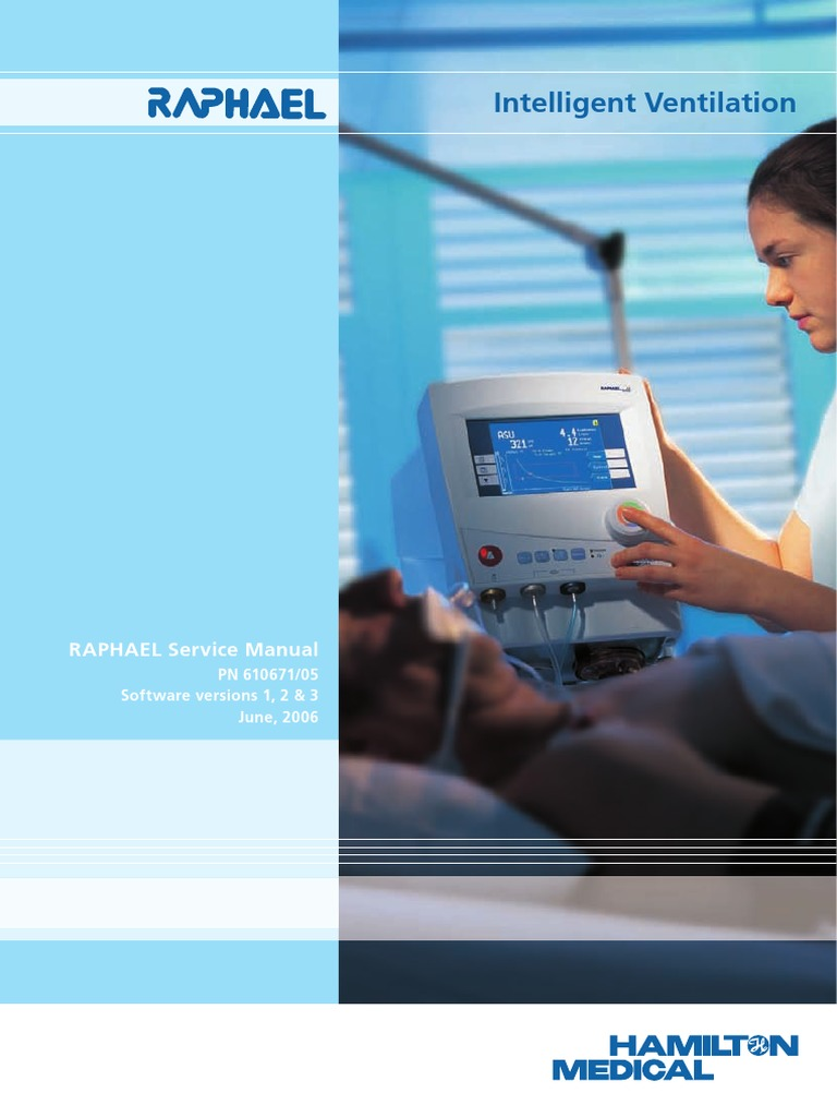 Hamilton Medical-raphael Manual de Servicio | Electrical Engineering |  Manufactured Goods