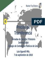 Precios de Transferencia - Luis Ugarelli