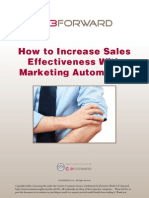 Increasing Sales Effectiveness With Marketing Automation