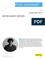 MINTEL-Books and E-books - UK - September 2014 - Executive Summary