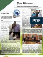 Boletin 149 INFORME MISIONERO DE CABO VERDE - MARZO 2010
