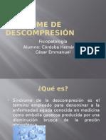 Sindrome de Descompresion