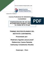 Creación e implementacion de imprenta