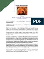 Santo Tomas de Aquino Psicologo