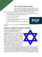 Le Bouclier de DAVID ( Magen David)