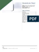 Estudio y Análisis de Elemento Finito de una lata de aluminio.