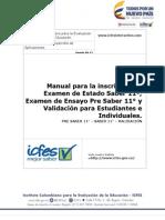 Manual de Inscripcion Para Estudiantes e Individuales