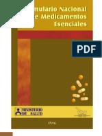 Formulario Nacional de Medicamentos Esenciales 2005
