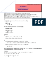 progresiones matemáticas