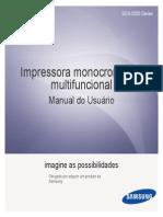Manual Multifuncional SCX-3200