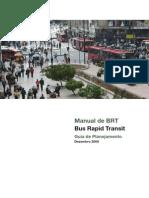 Manual de BRT - Guia de Planejamento