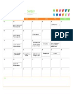 calendar for unit weebly