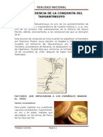 Conquista Del Tahuantinsuyo (2)