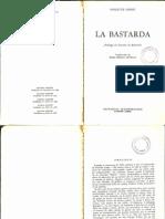 La Bastarda, de Violette Leduc