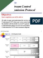 Chap-13 Stream Control Transmission Protocol