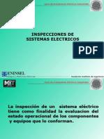Inspección de Sistemas (Instrumentos y Pruebas de Aislamiento)
