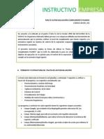 InsInstructivo Pauta Autoevaluacion Planesitructivo Pauta Autoevaluacion Planesi