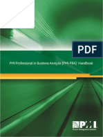 PMI PBA Handbook