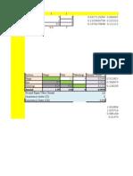 Perhitungan Matriks Menggunakan Ms. Excel