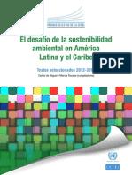 El Desafío de La Sostenibilidad Ambiental en América Latina y El Caribe